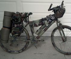 "Hey everyone. This is my first Instructable, so please don't be too harsh. :)I'm gonna teach you some mods I've done to my bike, which unintentionally and accidentally turned into this crazy survival bike. It basically turned into a fully self-sustainable bug out ""battle bike"" quite by accident. LOLSo one day my girlfriend wanted me to get a bike, so we could go riding along the various beaches of southern California together. I picked up a mountain bike of Craig..."