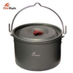 Lightweight Hanging Aluminum Pot