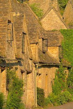 Medieval almshouses, Bibury, Oxfordshire
