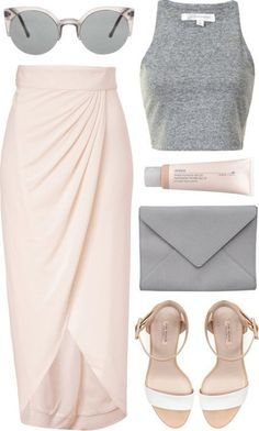 maxi skirts and blush pink