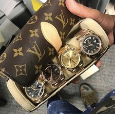 LV watch travel case' by Juampi*