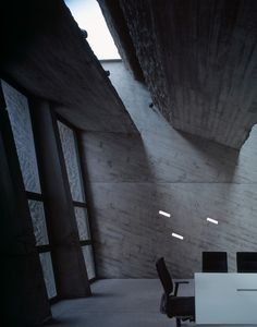 Swiss Architect Peter Zumthor Interesting roof opening and light effect