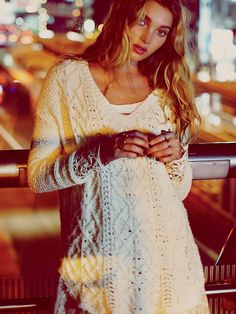 Free People Free People Cross My Heart Pullover, $118.00