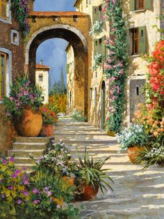 Artist Guido Borelli was born in 1952, in Caluso, Italy at the foothills of the Italian Alps.