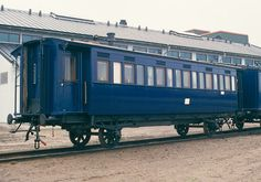 The emperor's saloon car of the only surviving Russian imperial train in the world. At the Finnish Railroad Museum in Hyvinkää, Finland.