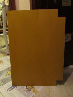 base 1 pronta fondo ocra/oro