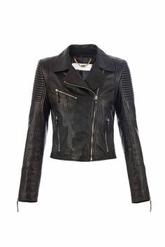 Elisabetta Franchi Leather Jacket | Zwart