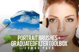 Portrait Brushes & Graduated Filters Toolbox Combo Pack by Pretty Presets | Pretty Presets for Lightroom