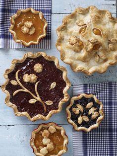 Beautiful summer pie ideas!