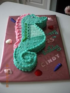 May have to make my own birthday cake! I am in love with this cake!