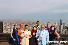 The entire WGN Morning News gang, looking pretty!
