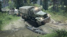 Spintires Brings Russian Twist To Off-Road Trucking