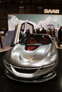 Saab Concept Car - Geneva Motor Show 2011 by losvizzero, via Flickr