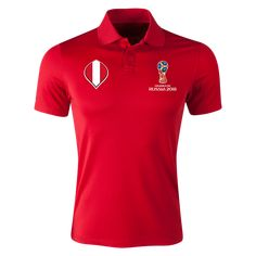 Show your support! Classic polo.Fits true to size with standard non-performance fit. This polo is idea for players, fans, coaches.Three-button placket. Moisture-wickin...
