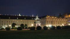 Wiener Hofburg at night