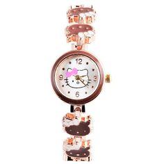 Hello Kitty Watch Children's Watches Kids Watches For Girl Cartoon Bracelet Watches Children Clock saat relogio montre enfant