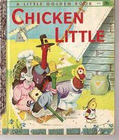 CHICKEN Little Vintage Golden Book Richard Scarry 1960