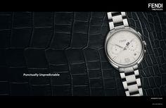 Fendi Momento. The new collection of precious Fendi watches.