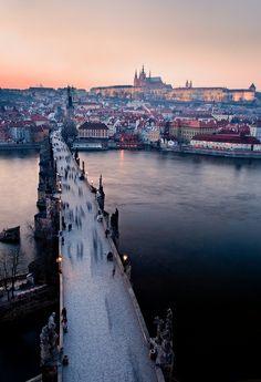 Charles Bridge, Prague, Czech Republic, been there! So gorgeous!