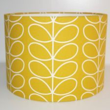 Details about Orla Kiely Yellow Gold Linear Stem Fabric Drum Lampshade 20 25 30 35 Orla Kiely Fabric, Brick Wall Bedroom, Orla Keily, Wallpaper Stairs, Gold Fabric, Ceiling Pendant, Fabric Shades, Main Colors, Fabric Design