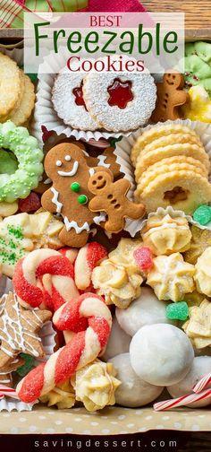 Freezable Cookies, Quick Cookies, Frozen Cookies, Yummy Cookies, Chocolate Marshmallow Cookies, Chocolate Chip Shortbread Cookies, Toffee Cookies, Coconut Cookies, Sugar Cookies