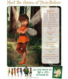 Tinker Bell - Photo Gallery and Characters from the Disney DVD movie Tinker Bell. Tinkerbell Characters, Tinkerbell Movies, Tinkerbell And Friends, Tinkerbell Fairies, Tinkerbell Party, Tinkerbell Dress, Cartoon Characters, Disney Love, Disney Magic