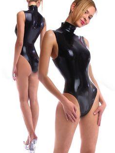 latex body/swimsuit