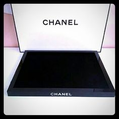 "Chanel PERFUME MAKE UP COSMETIC VANITY Measurements :  1"" H x 9.5"" W x 12.5"" L  **you will be getting one brand new in box tray** These were given out for VIP members only. Perfumes are not for sale. Price is firm   Makeup"