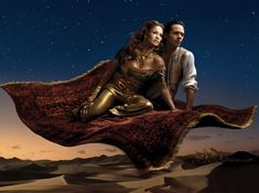 I love these ads for Disney! Check out the latest from photographer Annie Leibovitz.