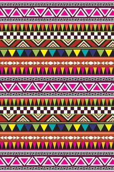 Colorful Boho Aztec Tribal - Abstract Pattern Barely There iPhone 6 Plus Case Tribal Pattern Wallpaper, Aztec Wallpaper, Print Wallpaper, Abstract Pattern, Pattern Art, Screen Wallpaper, Indian Patterns, Tribal Patterns, Print Patterns