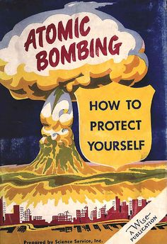 1950's US Civil Defence Protection Poster