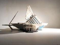 Lego designer (@milwaukemps graduate) could use your virtual thumbs up! #calatrava #mam #lego