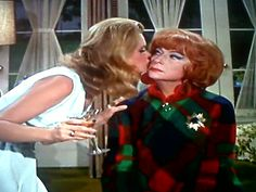 Kisses Beautiful Witch, Most Beautiful, Endora Bewitched, Bewitched Elizabeth Montgomery, Agnes Moorehead, Ronald Mcdonald, Classy, Actresses, Memories