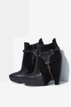Vintage Balenciaga Harness Leather Boots