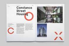 Cox Architecture Capability Reports on Behance