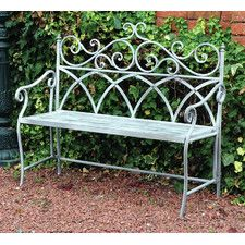 Vintage 2 Seater Iron Bench