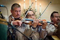 Mariachi Band for Wedding Ceremony Music at Founder's Chapel, USD. Gallery of San Diego Wedding Photos | Stephanie Rose Events