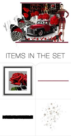 """Wild Thing You Make My Heart Sing!"" by sylvia-cameojewels ❤ liked on Polyvore featuring art, redandblack and artexpression"