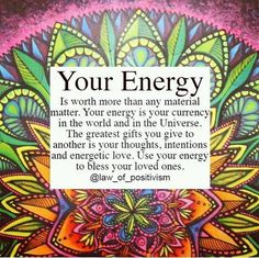 Quotes Positive Energy Spirituality Ideas For 2019 Positive Vibes, Positive Thoughts, Quotes Positive, Positive Living, Uplifting Thoughts, Dark Thoughts, Namaste, Affirmations, After Life