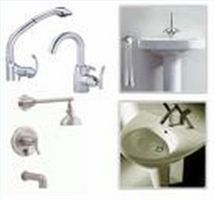 How to Refinish Bathroom Faucets--how to PAINT faucets. use good quality spray paint meant for metal, primer first and lacquer after. be patient. has to dry between coats and needs to cure. find link to other tutorial for this.
