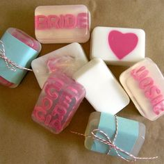 Homemade soaps are great gifts!