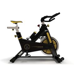 Matrix E Series LiveStrong Indoor Bike(Certified Pre-Owned)