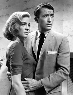 Lauren Bacall and Gregory Peck in Designing Woman, 1957