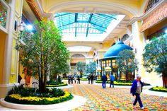 Lobby & shops at Beau Rivage Resort & Casino, Biloxi MS