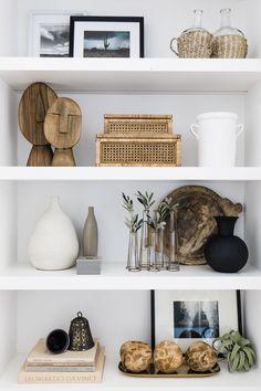 The Great Lake Proj — The LifeStyled Company Home Living Room, Living Room Decor, Bedroom Decor, Living Room Shelves, Wall Decor, Living Room Designs, Home Decor Inspiration, Decor Ideas, Home Accessories