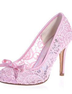 X&D Damen - Hochzeitsschuhe - Rundeschuh - High Heels - Hochzeit / Party & Festivität - Schwarz / Rosa / Elfenbein / Weiß - http://on-line-kaufen.de/tba/x-d-damen-hochzeitsschuhe-rundeschuh-high-heels-2