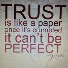 Trust is life!