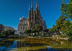 Sagrada Familia Basilica, Barcelona - A UNESCO World Heritage Site, even though not completed, this Neo-Gothic church is Gaudi's best-known creation and is a must-see. Get some great trip ideas and start planning your next trip! See More: bit.ly/RoutePerfectP