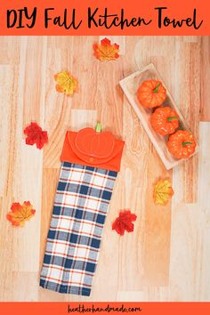 Bring a touch of autumn to your kitchen with this fall hanging towel! You can make one from a hand towel and a coordinating fat quarter of fabric. Heather Handmade shows you how. Hand towels or kitchen towels aren't expensive… Read more ...