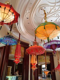 These are found at Parasol Up/Down at the Wynn Resort & Casino in Las Vegas